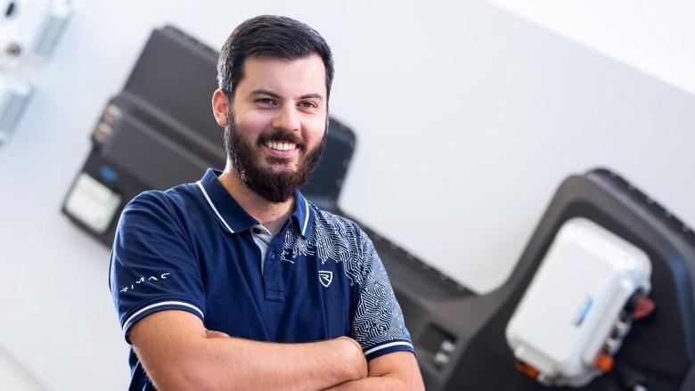 Mate Rimac, fondateur de Rimac Automobili : Crédit : Porsche