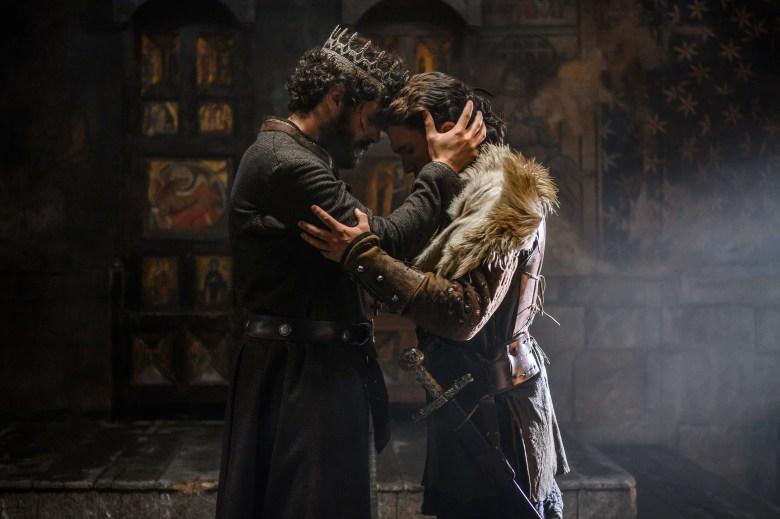 Sancho et El Cid, personnages de la série Prime Video.