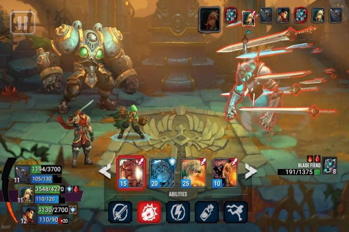 battle chasers, l'un des meilleurs jeux sur android