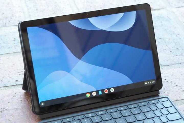L'une des meilleures tablettes avec Chrome OS Lenovo Chromebook Duet