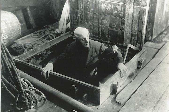 Nosferatu, l'un des meilleurs films gratuits sur YouTube.