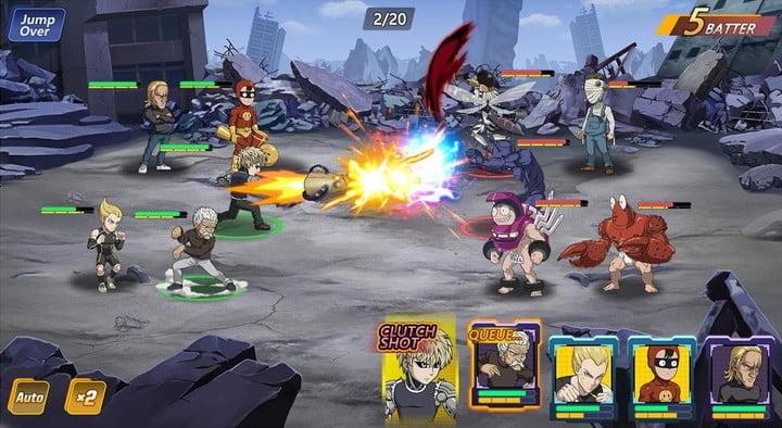one punch man l'un des meilleurs jeux pour Android