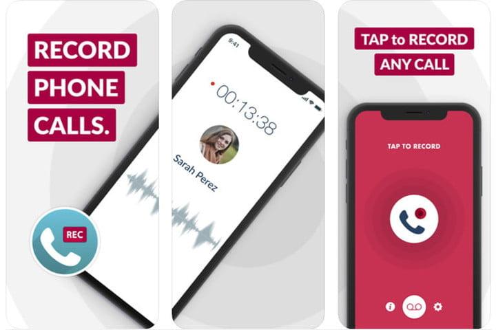 Phone Call Recorder pour enregistrer les appels sur un iPhone