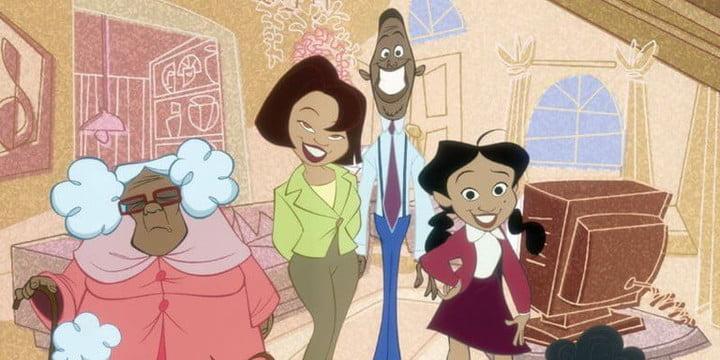 The Proud Family, l'une des meilleures séries sur Disney+.