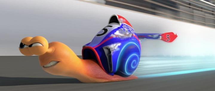 Turbo, l'un des meilleurs films pour enfants sur Netflix.