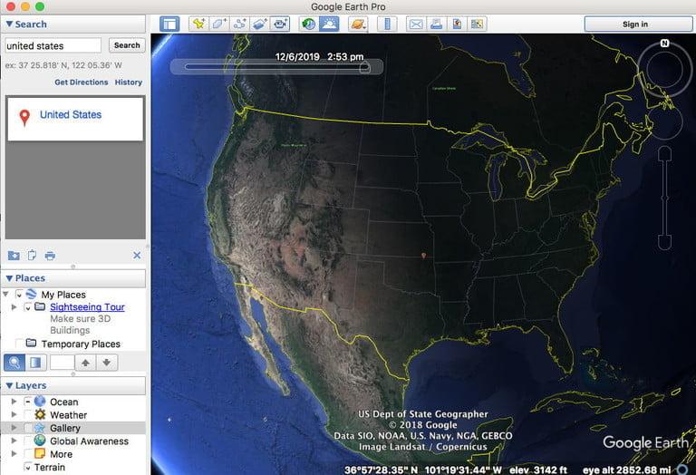 Découvrez les fonctionnalités de Google Earth Pro gratuitement