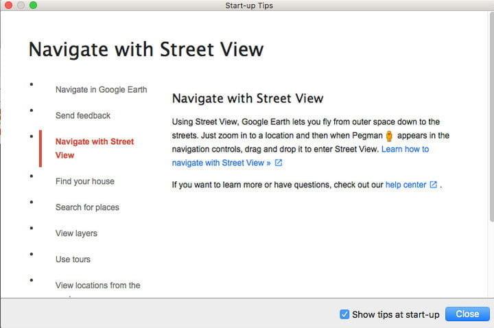 Après avoir obtenu gratuitement Google Earth Pro, consultez les premiers conseils.