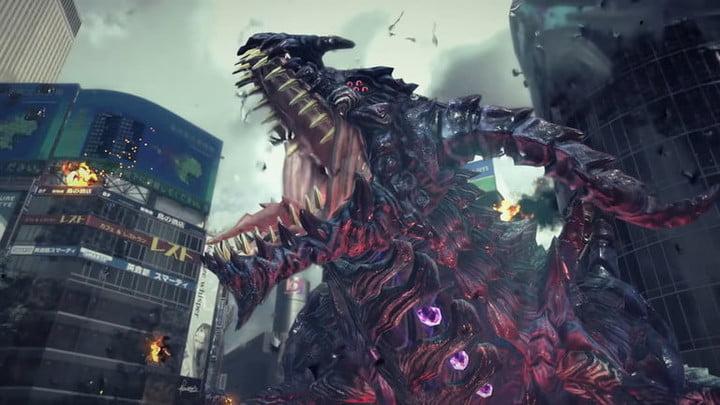 Le monstre visqueux de Bayonetta dans Bayonetta 3.