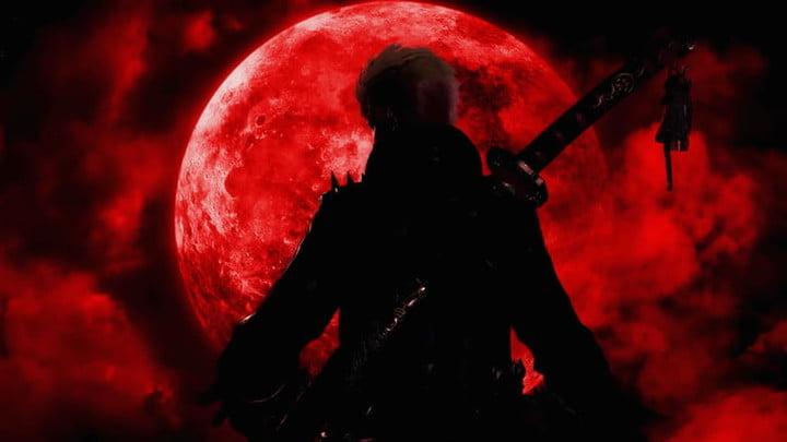 Mystérieux personnage de l'ombre dans Bayonetta 3.