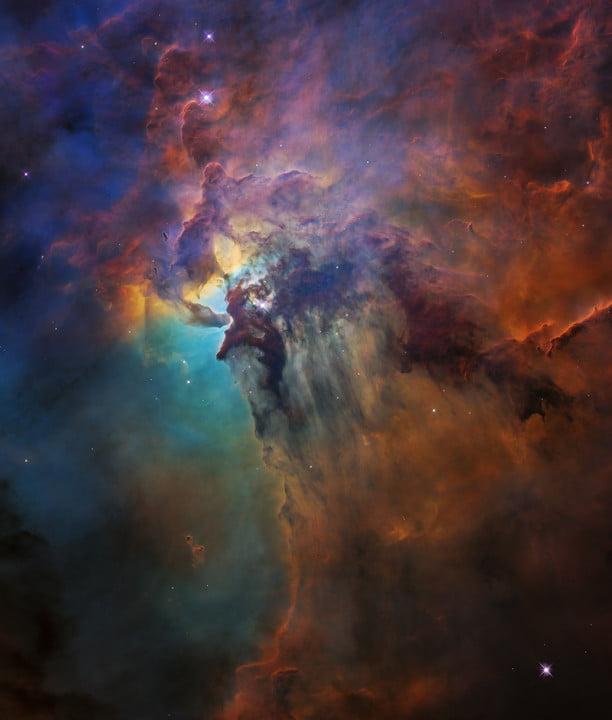 L'étoile Herschel 36 dans la nébuleuse du Lagon