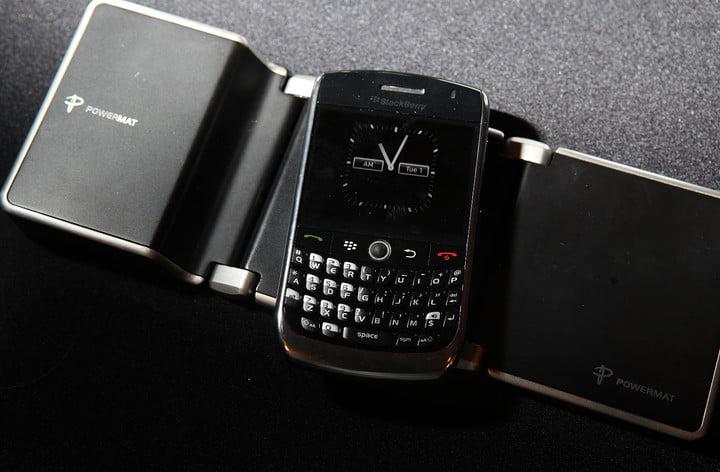 Un téléphone BlackBerry de 2010.