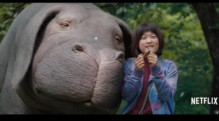 Okja, l'un des meilleurs films de science-fiction sur Netflix.