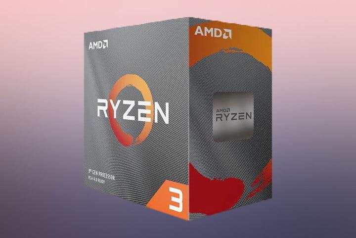 Boîtier avec AMD Ryzen 3 3300X